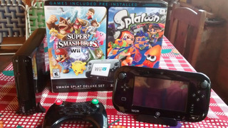 Nintendo Wii U Deluxe 32gb +juegos