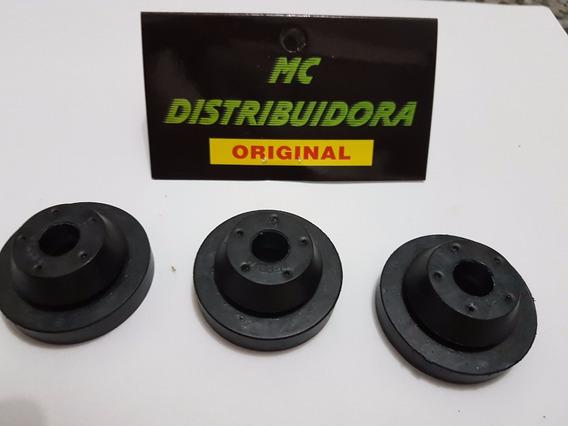 Coxim Borracha Caixa Filtro Ar Novo Uno Fiat (kit 3 Peças )