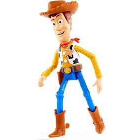 Novo Disney Pixar Toy Story 4 Woody Fala Em Português 23 Cm