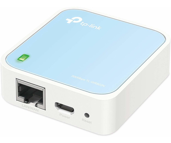 Router Nano Tp-link Tl-wr802n 300mbps 802.11b/g/n 1 Puerto L