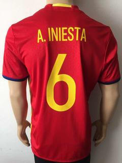 Jersey España adidas Euro 2016 Iniesta