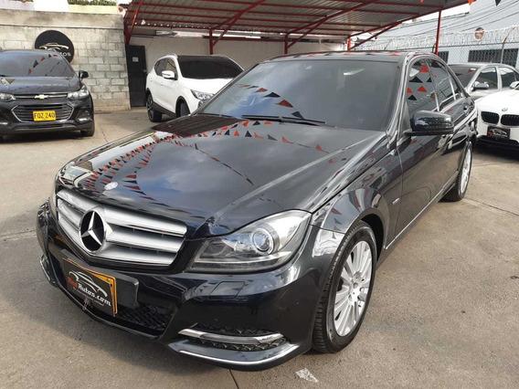 Mercedes Benz C 200 Cgi Elegance Triptonico 1.8 4p 2012