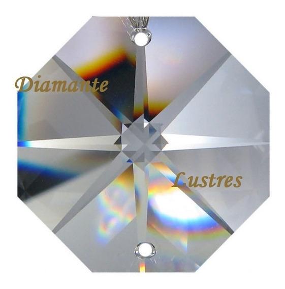 Kit 500 Castanhas 14 Mm Cristal K9 Lustres Alta Qualidade