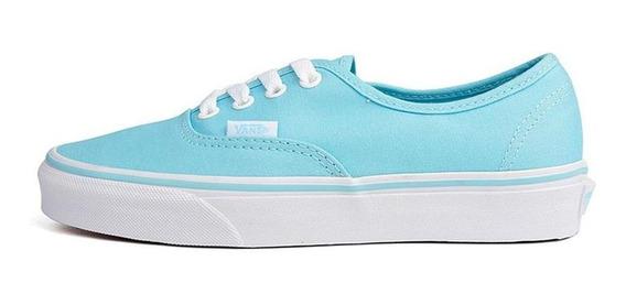 Tenis Vans Authentic-azul Cielo-mujer- 38emmqw