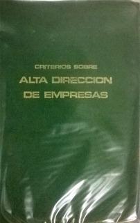 Alta Direccion De Empresas I.s.d.e. Escuela De Negocios