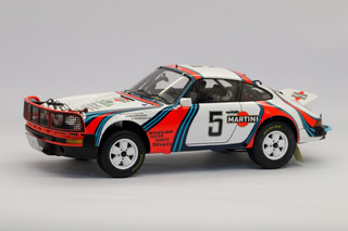 Spark - Porsche 911 Sc 3.0 - East African Safari Rally1:18