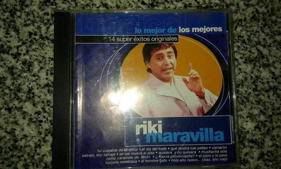Cd Riki Maravilla 14 Súper Éxitos Originales 2000