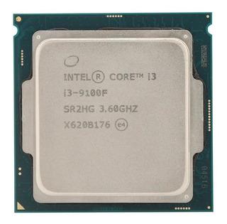 Para Intel Core I3 9100f Cpu 3.6 Ghz Quad-core Quad Threads