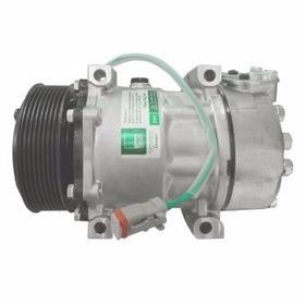 Compressor Do Ar Cond. 7h15 Polia 8k 24v 4 Fix Scania 08-13
