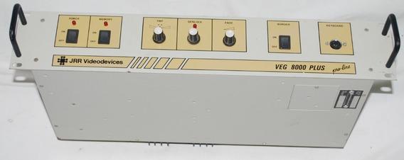 Jrr Video Devices Veg 8000 Plus Gerador De Caracteres.