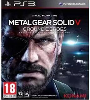 Metal Gear Solid V Ground Zeroes Y Metal Gear Solid 4 Ps3
