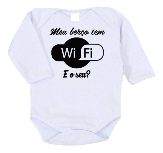 Body Infantil - Meu Berço Tem Wifi