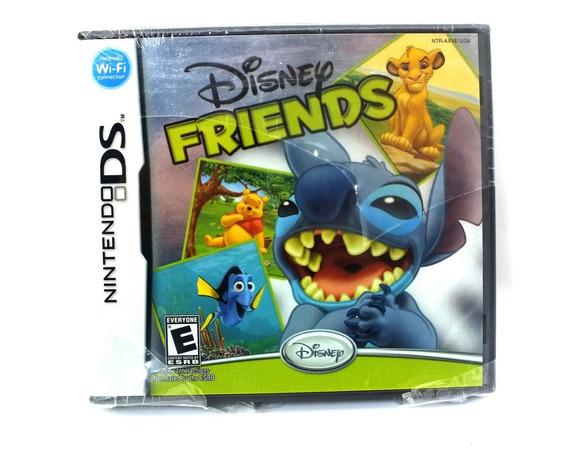 Jogo Nintendo Ds Disney Friends Midia Física Classificação Livre A5836