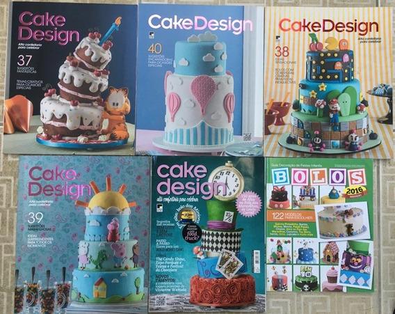 Revista Cake Design E Bolos. Revenda E Lucre!