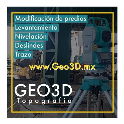 Deslindes Mexicali Geo3d