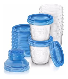 Vasos Para Almacenamiento De Leche Materna Avent Scf618/10