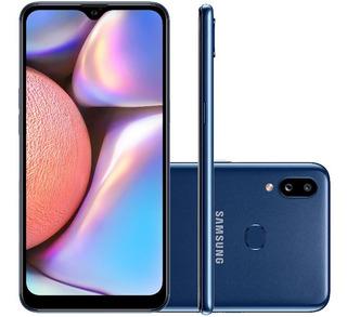 Smartphone Samsung Galaxy A10s Sm-a107m 32gb Azul