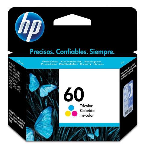 Cartucho De Tinta Hp 60 Tricolor