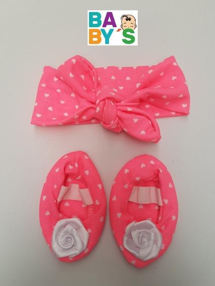 Balerinas Con Cintillos Para Bebés. Zapatos Para Bebés.