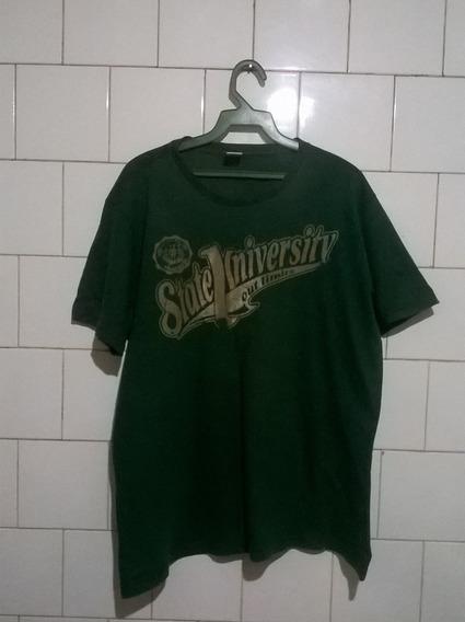 Camisa Verde Estampa Relevo Jinglers G