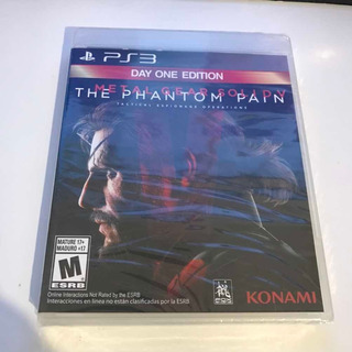 Metal Gear 5 Ps3 Nuevo Y Sellado