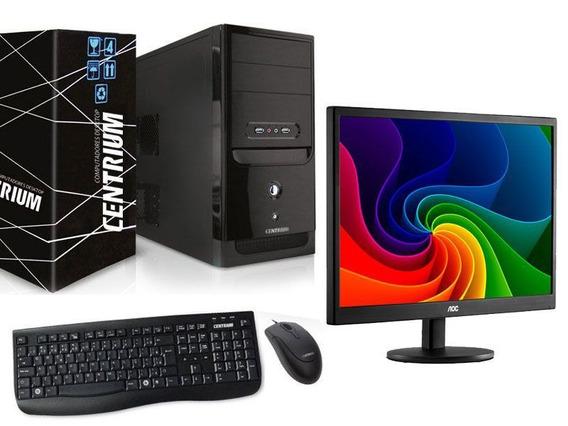 Computador G5400 4gb Ddr4 500gb+monitor Aoc E970swnl 18,5