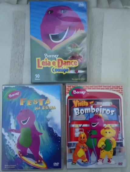 Lote De Dvd Barney E Seus Amigos Originais - Leia
