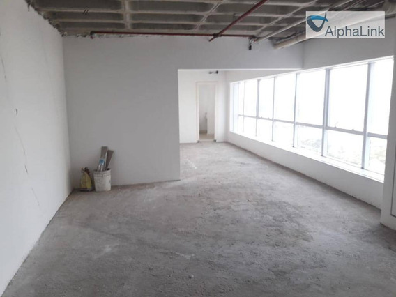 Sala Comercial 60 M² 2 Vgs Centro Alphaville - Sa0149