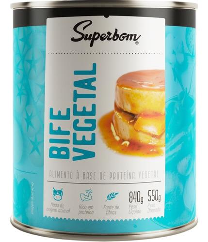 Bife Vegetal 840g - Superbom