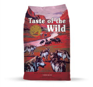 Taste Of The Wild Canine Southwest Canyon Jabalí 28lb Nuevo