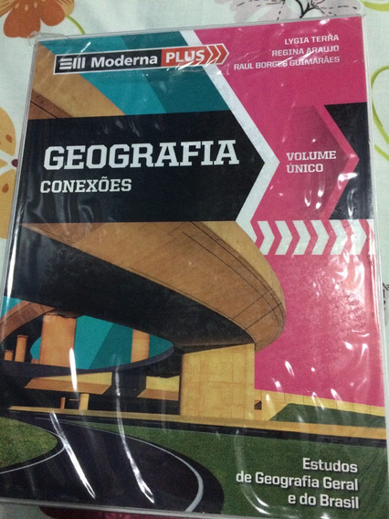 Livro Moderna Plus Geografia Usado