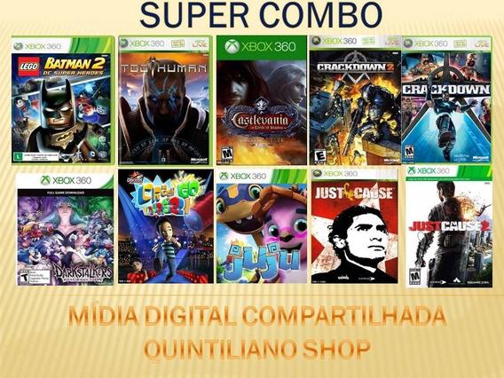 Combo De Jogos Xbox 360