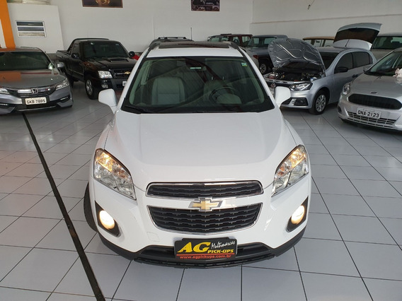 Gm Chevrolet Tracker Ltz Teto Top Couro Multimidia 79000km