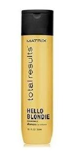 Shampoo Hello Blondie 300 Ml Matrix Total Results