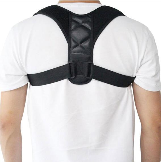 Soporte Corrector De Postura Ajustable Unisex Faja Espalda