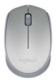 Mouse Sem Fio Prata Logitech M170