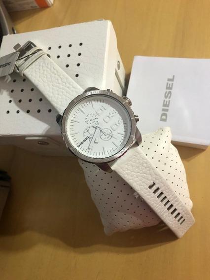 Relógio Unisex Diesel Original Branco