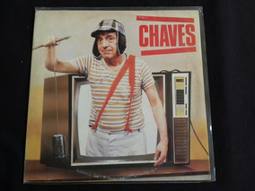 Lp Vinil - Chaves - 1989 - Selo Polydor