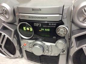 - Micro System Panasonic Funciona Cd E Radio- 80´s