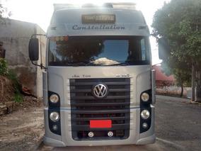 Caminhão Vw 19320 6x2 Com Baú Ano 2008