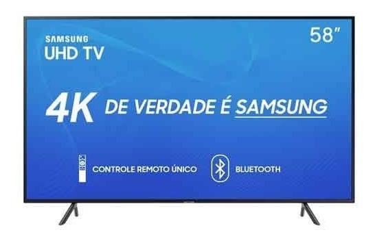 Smarttv 4k Samsung 58 Visual Livres Hdr Único Un58ru7100gxzd