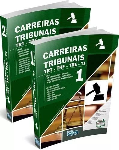 Carreiras Tribunais - Trt - Trf - Tre E Tj - Volume 1 E 2