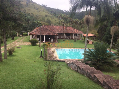 Fazenda Rural À Venda, Fazenda Vitoria, São Lourenço Da Serra. - Fa0007