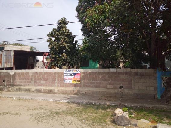 Renta De Terreno Comercial Col. Niños Héroes, Tampico