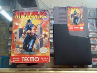 Ninja Gaiden Con Caja Nintendo Nes