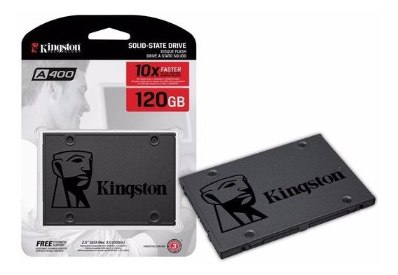 Hd Ssd Pc/note Kingston A400 120gb Sata 3 2.5