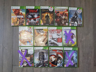Lote Juegos Xbox 360 Físicos Original El Precio Es Por C/u