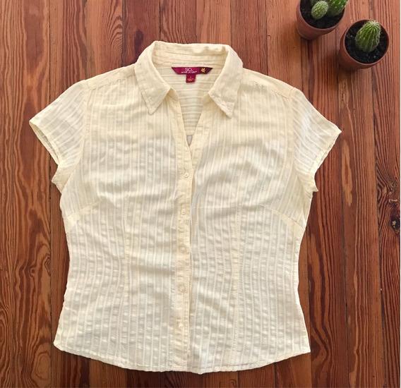 Camisa Importada Mujer De Eeuu Algodón De India. Impecable