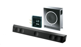 Kit Soundbar Focal Dimensionbar+subair+aptx - Home Theater