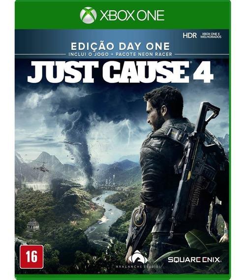 Jogo Just Cause 4 Day One Xbox One Disco Fisico Cd Lacrado